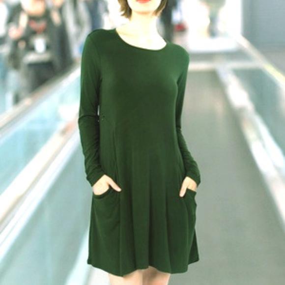 c5b205a174b9 Betabrand Dresses   Sweatshirt Travel Wrinkle Free Dress   Poshmark